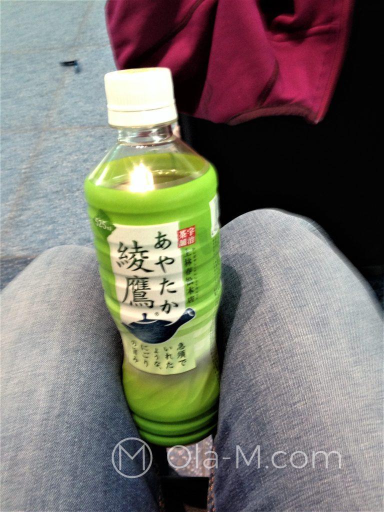Kuchnia japońska, butelkowana zielona herbata