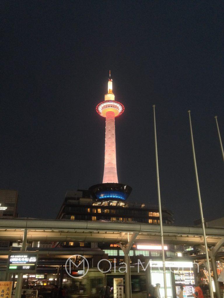 Japonia - Kioto - Kioto Tower