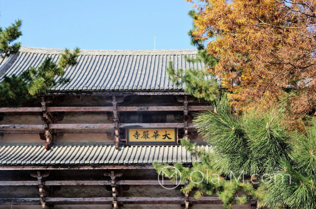 Nara - Nandai-mon, czyli południowa brama świątyni Tōdai-ji