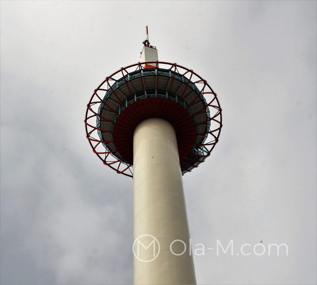 Kioto - Kioto Tower - dobry punkt orientacyjny w centrum Kioto