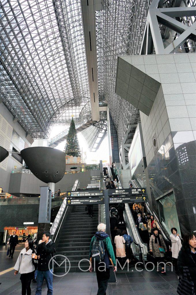 Dworzec w Kioto - zadaszona hala główna