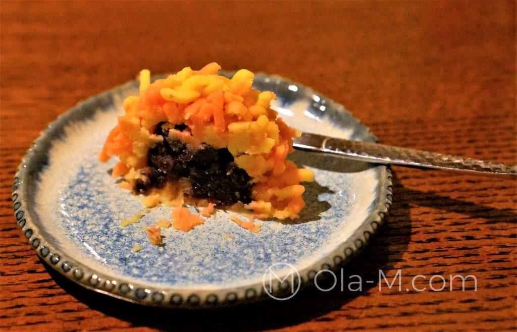 Japońskie słodycze - wagashi w herbaciarni Ippodo