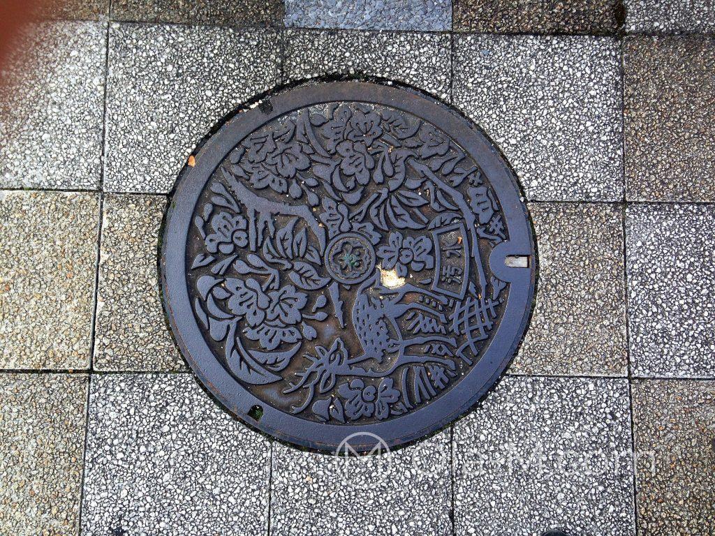 Nara - ozdobny właz do studzienki kanalizacyjnej