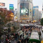 Tokio - skrzyżowanie Shibuya (Shibuya crossing)