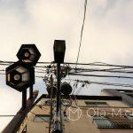 Tokio - Asakusa - kable, lampy, lampy, kable...