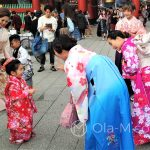 Święto Shichi-go-san - małe dzieci są w Japoni ubóstwiane, a co dopiero w dniu ich święta