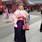 Tokio, Świątynia Senso-ji - jeszcze jedna wystrojona elegantka