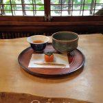 Tokio - dzielnica Ueno - wykwintnie podana herbata, uczta dla wszystkich zmysłów