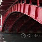 Tokio - most nad rzeką Sumida