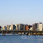 Tokio - rzeka Sumida