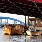 Tokio - wycieczkowe stateczki na rzece Sumida