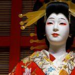 Edo-Tokyo-Museum - aktor operowy - role żeńskie grane były przez mężczyzn
