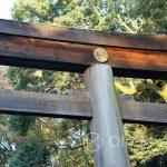 Tokio - Świątynia Meiji - brama prowadząca do świątyni