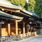 Tokio - Świątynia Meiji - w promieniach wschodzącego słońca