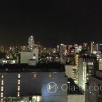 Tokio - sklep papierniczy Itoya w dzielnicy Ginza - widok na miasto z 12-tego piętra