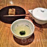 Tokio - herbaciarnia Higashiya - Sencha z dodatkiem słodkiego wagashi