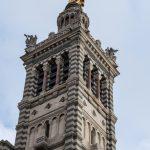 Marsylia - Bazylika Notre Dame de la Garde - mieszanka neoklasycyzmu i wpływów bizantyjskich