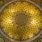 Marsylia - Bazylika Notre Dame de la Garde - misterna mozaika pokrywająca wnętrze głównej kopuły