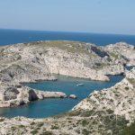 Marsylia - Frioul - Ratonneau - przepiękne zatoczki zwane Calanques