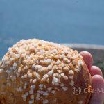 Marsylia - Frioul - Ratonneau - przerwa w wędrowaniu - obłędnie smakowita brioszka