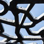 Marsylia - MuCEM - warto poprzyglądać się temu budynkowi z różnych perspektyw