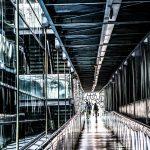 Marsylia - MuCEM - futurystyczne obrazy jak z filmu science fiction