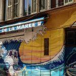 Marsylia - mniej turystyczne zakątki - graffiti wszechobecne w każdym zakamarku