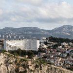 """Marsylia - panorama miasta - kto się wychował w """"wielkiej płycie"""", ten jest w stanie wyobrazić sobie te klimaty"""