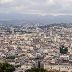 Marsylia - panorama miasta widziana z bazyliki Notre Dame de la Garde