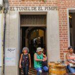 Malaga - Bodega El Pimpi - wejście od strony Muzeum Picasso