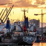 Port w Maladze - i jeszcze trochę industrialnej romantyki