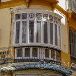 Malaga - Stare Miasto - piękne stare okno - dlaczego teraz się tak nie buduje??