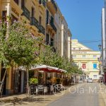 Malaga - Stare Miasto - urocza uliczka w okolicach Teatru Cervantesa