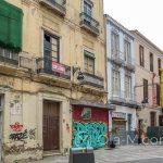 Malaga - Stare Miasto - tutaj to bardziej brudne i brzydkie oblicze Malagi, chociaż też nie pozbawione uroku