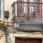 Malaga - Stare Miasto - jest w tym jakaś postmodernistyczna estetyka...