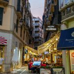 Malaga - Stare Miasto wieczorem - o zmroku można wreszcie odetchnąć