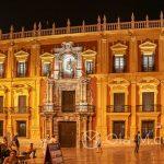 Malaga - Stare Miasto - tutaj jeszcze niejako należący do katedry pałac biskupi