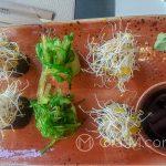 Malaga - restauracja Udon - zamiast sushi: rolki z cienkiego ryżowego makaronu z kreatywnymi nadzieniami