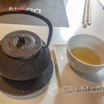 Malaga - restauracja Udon - sencha na ciepło lub zimno do obiadu