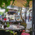 Mijas - Aroma Cafe & Secret Garden - miłe miejsce, ale średnie jedzenie