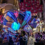 Andaluzja - Feria de Ronda 2018 - parada - a tutaj sztuka w stylu techno