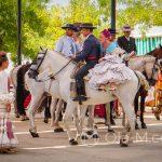 """Andaluzja - Fiesta - Feria de Ronda - ze względu na swoje piękno andaluzyjskie konie często występują w filmach, na przykład we """"Władcy pierścieni"""" lub """"Zorro"""""""