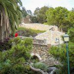 Malaga - wejście na wzgórze Gibralfaro