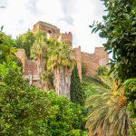 Malaga - ruiny alcazaby