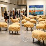 """Malaga - Centre Pompidou - a te baranki to z kolei """"bardzo ładna sztuka, bo są takie puszyste i praktyczne do siedzenia"""""""