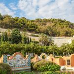 Malaga - park u podnóża Gibralfaro