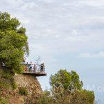 Andaluzja-Malaga - punkt widokowy na wzgórzu Gibralfaro