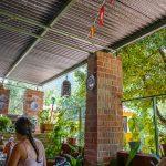 Andaluzja - Ronda - Restauracja Las Banderas miły taras, wśród gości oprócz nas sami lokalsi
