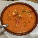 Estation de Benaojan - oczywiście nie mogło zabraknąć gazpacho, które jest w tym klimacie daniem wręcz idealnym