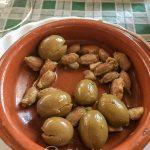 Andaluzja - Ronda - Restauracja Las Banderas - andaluzyjskie oliwki podawane na przystawkę są o niebo lepsze niż te, które można kupić w sklepach